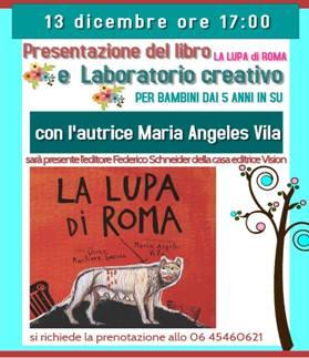 La lupa di Roma di Maria Angeles Vila EVENTO RIMANDATO