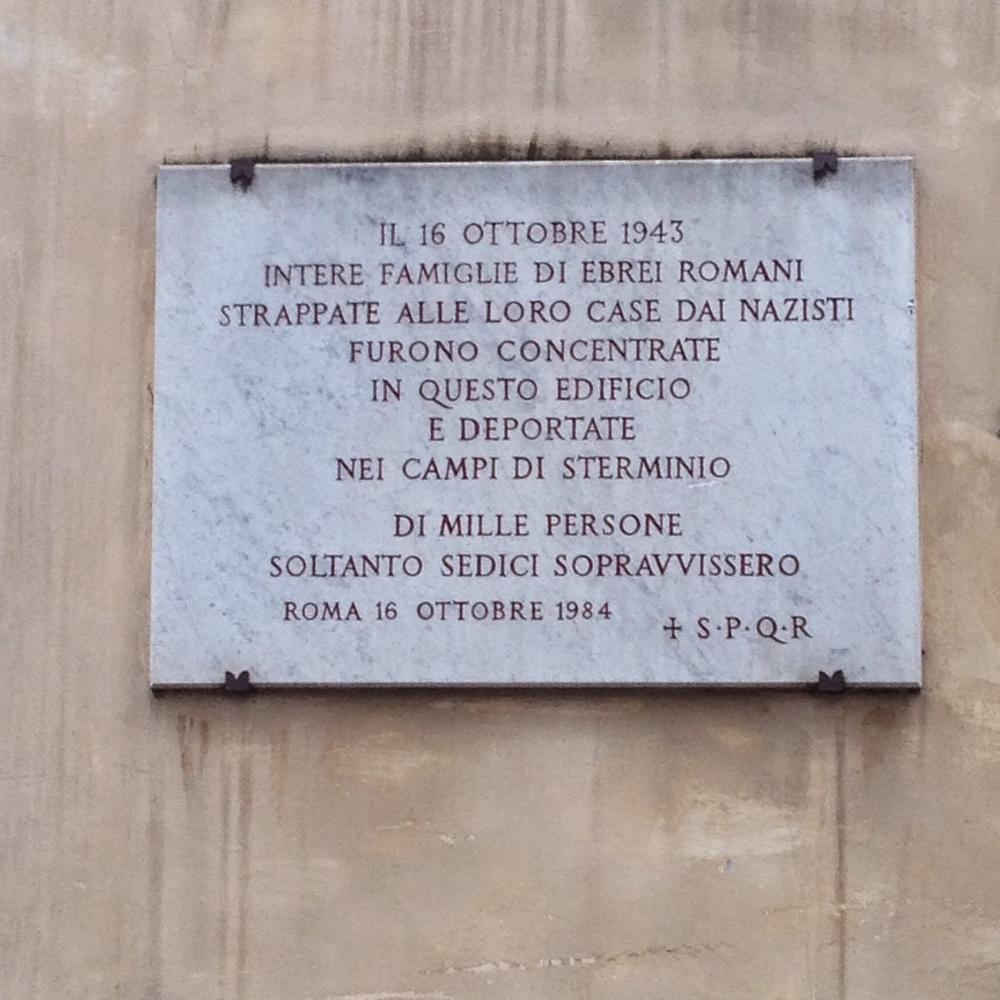 16 ottobre 1943: la deportazione degli ebrei romani