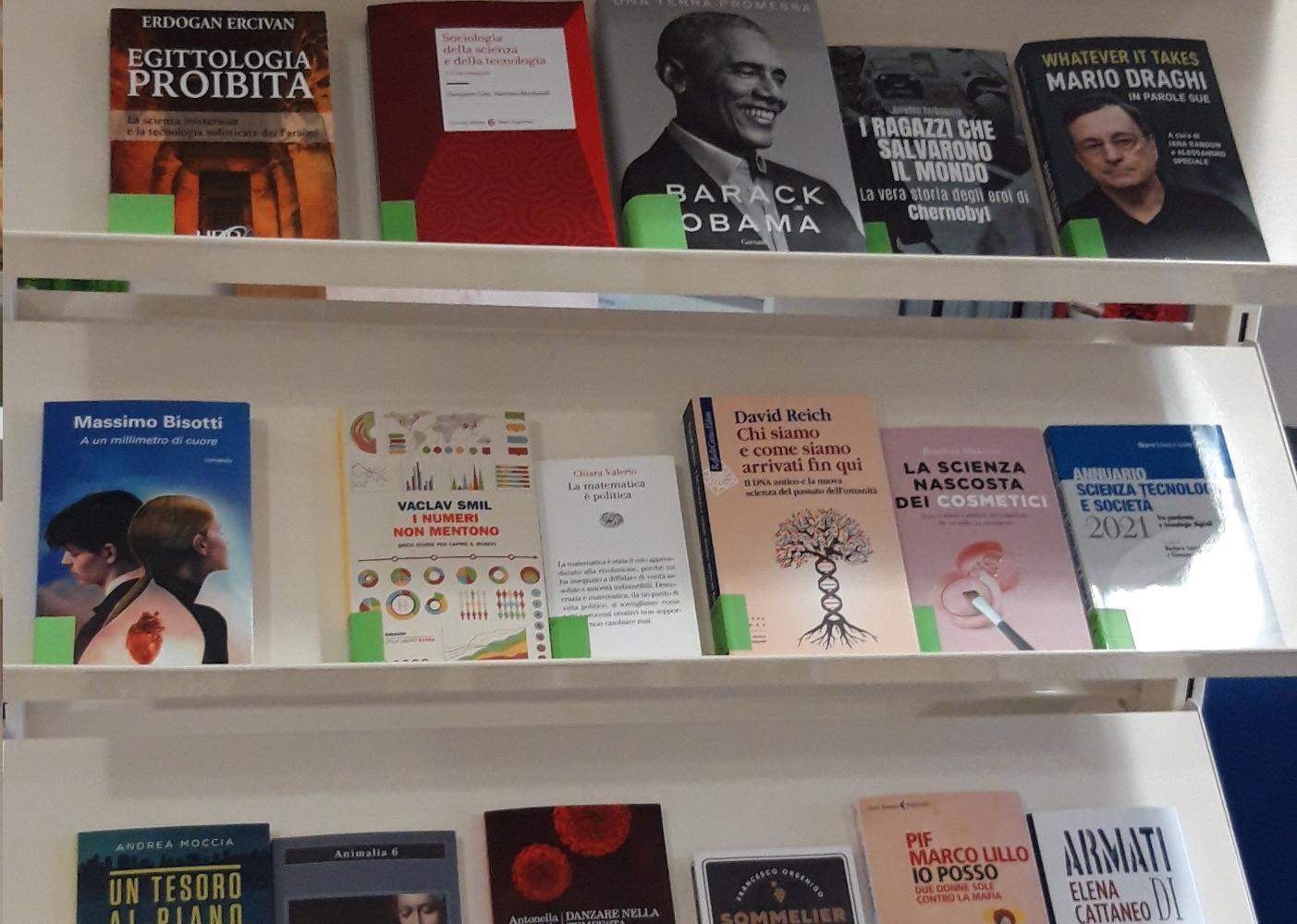 Nuovi libri in biblioteca!