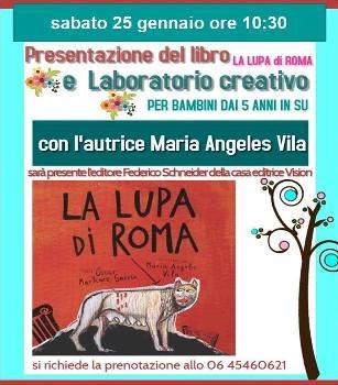La lupa di Roma di Maria Angeles Vila