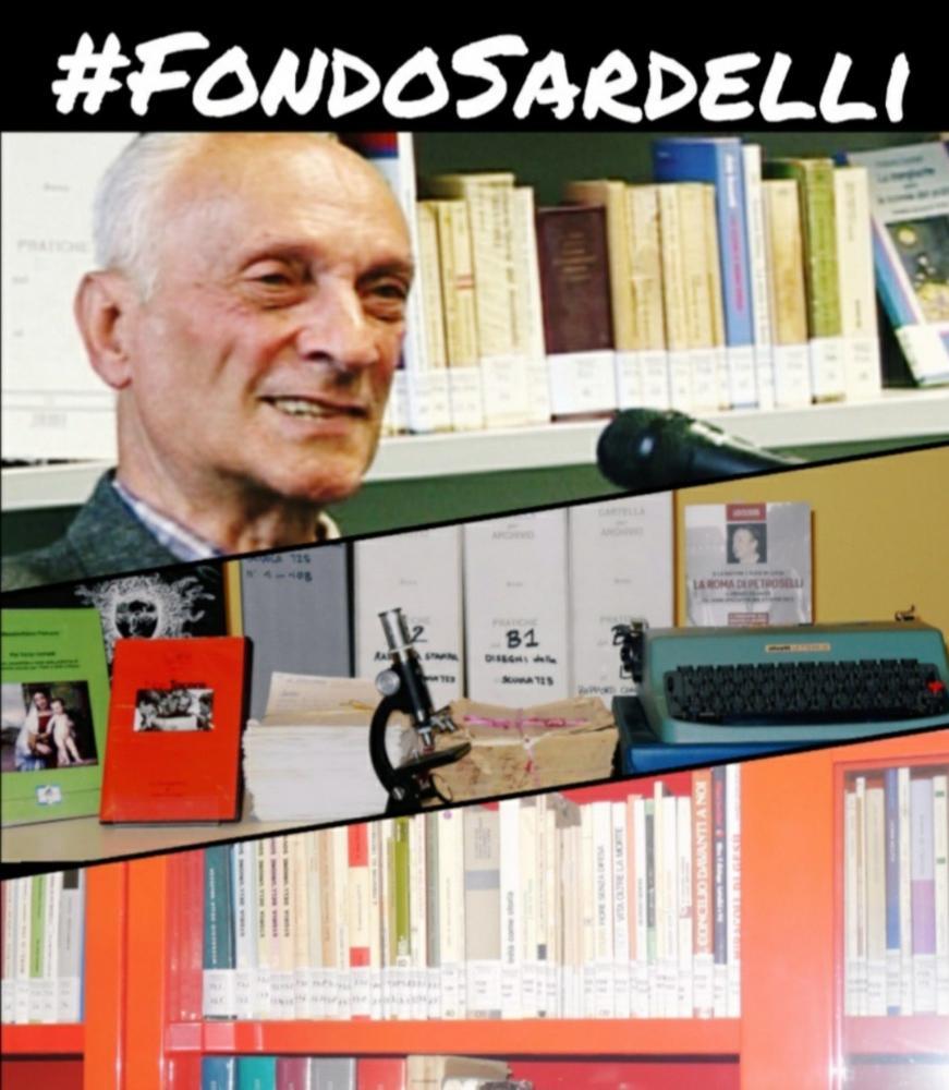 #FondoSardelli: viaggio tra i documenti della biblioteca Raffaello