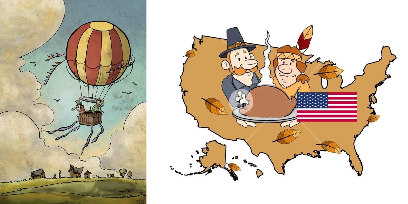 Il giro del mondo in 8Ø giorni: United States of America, Thanksgiving day