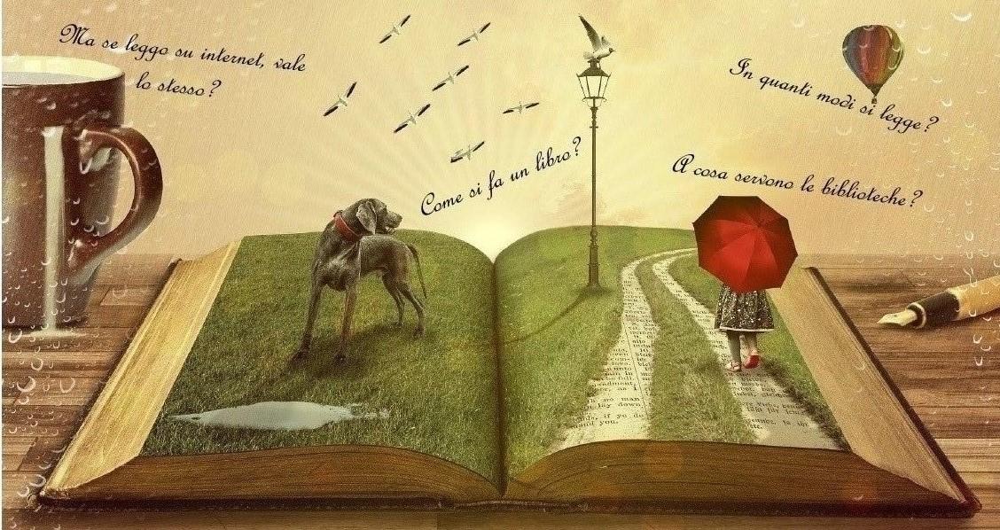 La mia biblioteca, storie di carta, colla e bit