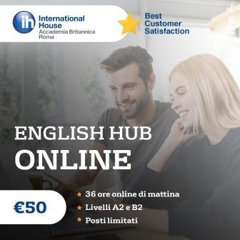 English Hub: corsi di inglese live online ad prezzo molto speciale