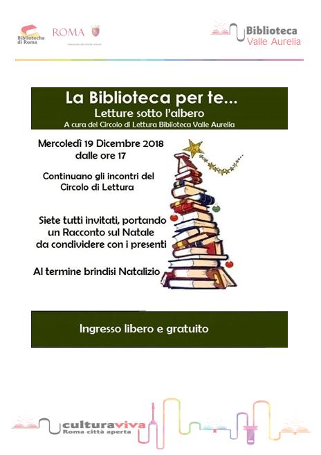 La biblioteca per te.....letture sotto l'albero