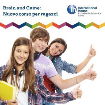 Brain and Game: corso di inglese per ragazzi (12-16 anni)