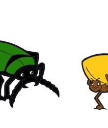 """Le Ludofavole - La formica e lo scarabeo"""""""