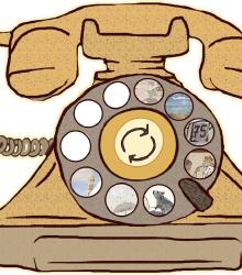 Trotterellando su Bibliotu - Rodari al telefono -