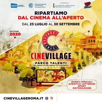 CINEVILLAGE TALENTI. Ripartiamo dal Cinema all'aperto