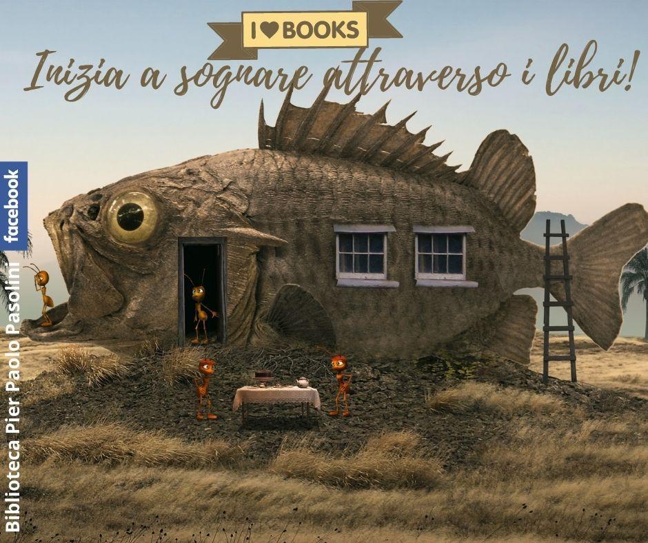 I love books. Libri per crescere