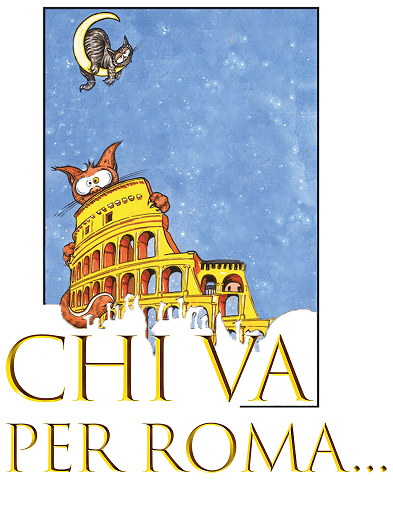 #Chi va per Roma...