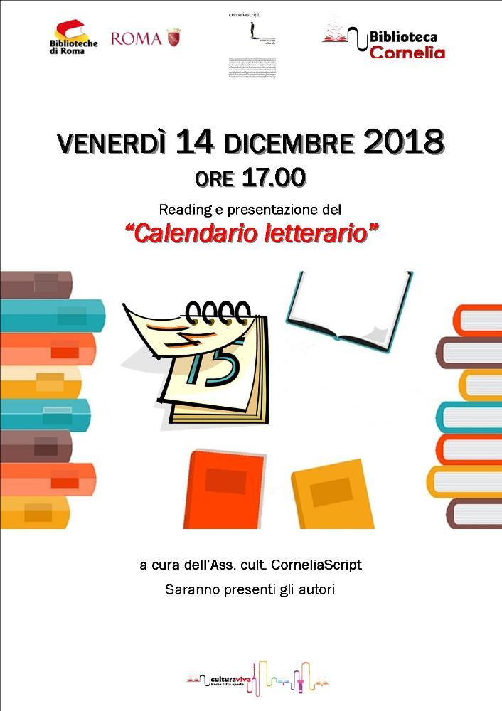 Calendario letterario