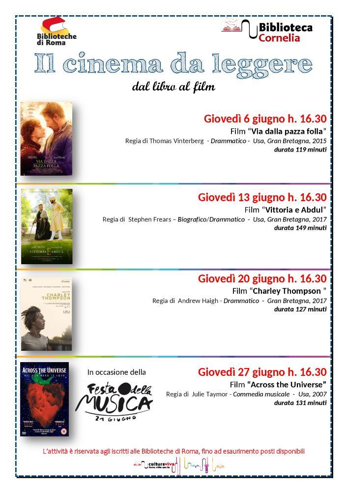 Il cinema da leggere: dal libro al film