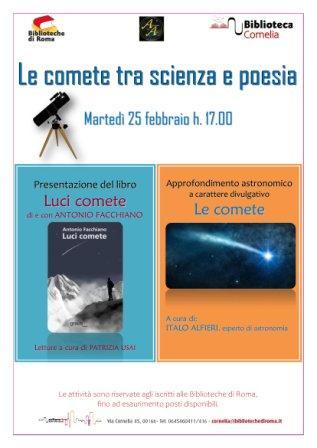 Le comete tra scienza e poesia
