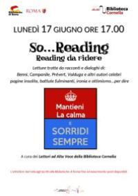 So...Reading