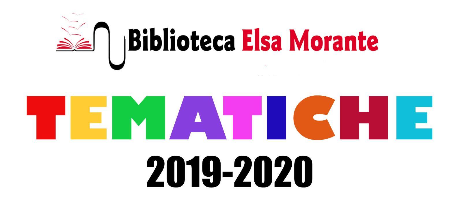 Tematiche della stagione 2019-2020