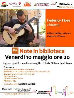 Federico Fiore - Note in biblioteca