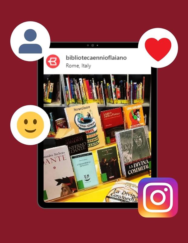 La biblioteca Ennio Flaiano è su Instagram