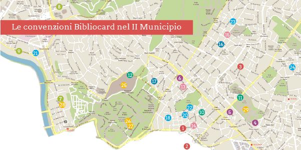 Convenzioni Bibliocard nel II Municipio