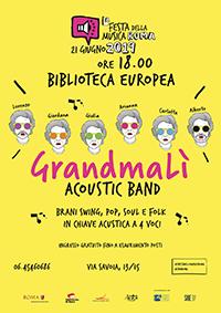 Festa della Musica. GrandmaLì acoustic band