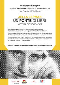 Jella Lepman. Un ponte di libri. Mostra bibliografica
