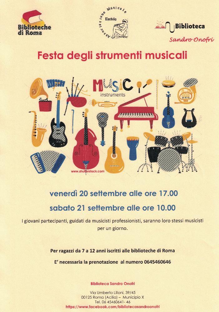 Festa degli strumenti musicali