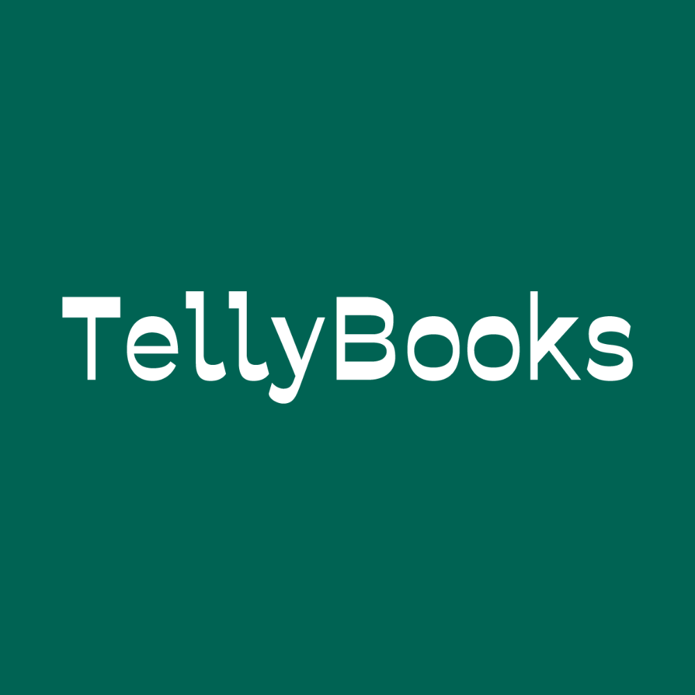 TellyBooks cover storytelling exhibition project