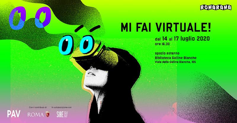 """""""Mi fai virtuale!"""""""