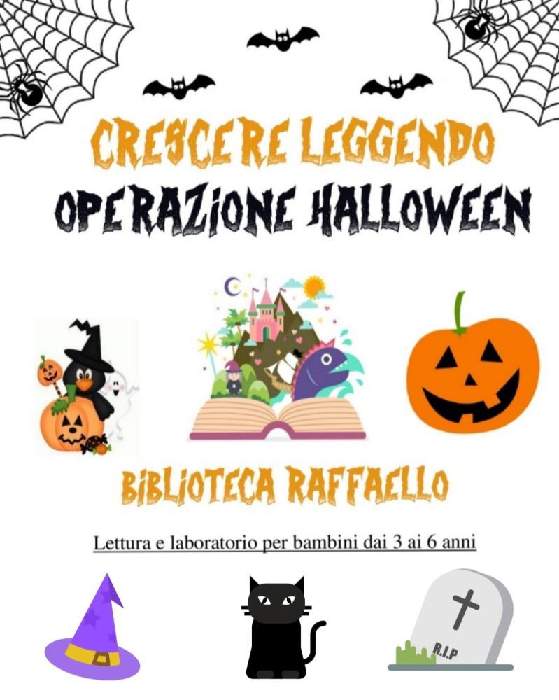 Crescere, leggendo: operazione Halloween