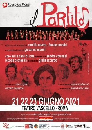 Il Partito – una cantata politica. Opera a due mani di Camilla Ravera e Fausto Amodei