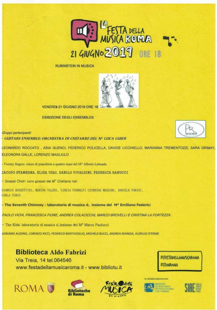 Rubinstein in musica