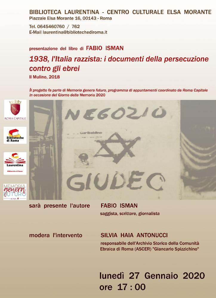 1938, l'Italia razzista: i documenti della persecuzione contro gli ebrei
