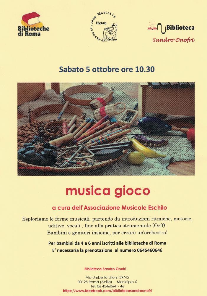 MUSICA GIOCO