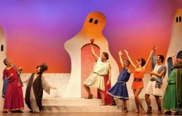 MOSTELLARIA  (La commedia del Fantasma)  di T. M. Plauto  Adattamento e regia Vincenzo Zingaro