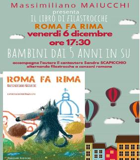 Roma fa rima di Massimiliano Maiucchi