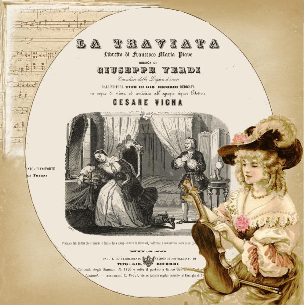 La Traviata di Giuseppe Verdi (1853)