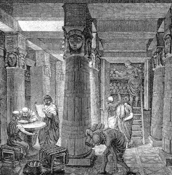 Biblioteche nel mondo antico