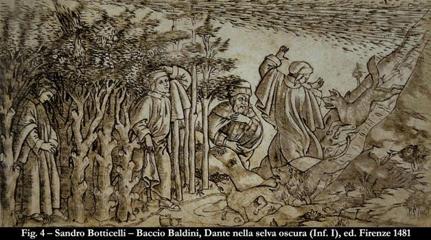 Le illustrazioni della Divina Commedia: Parte 1°