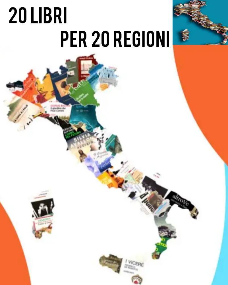 20 libri x 20 regioni