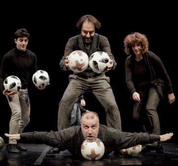 Tango del calcio di rigore con Neri Marcorè, Ugo Dighero e Rosanna Naddeo