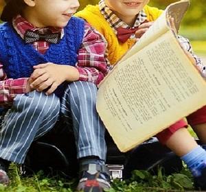 Bambini in biblioteca