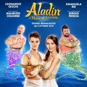 Aladin, il Musical geniale di Maurizio Colombi