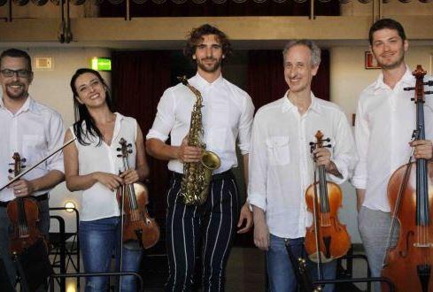Concerto del sassofonista Jacopo Taddei e di alcuni splendidi archi di Roma Tre Orchestra