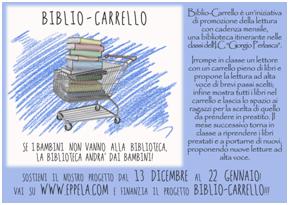 Sosteniamo ilBiblio-carrello con il Bibliopoint Perlasca