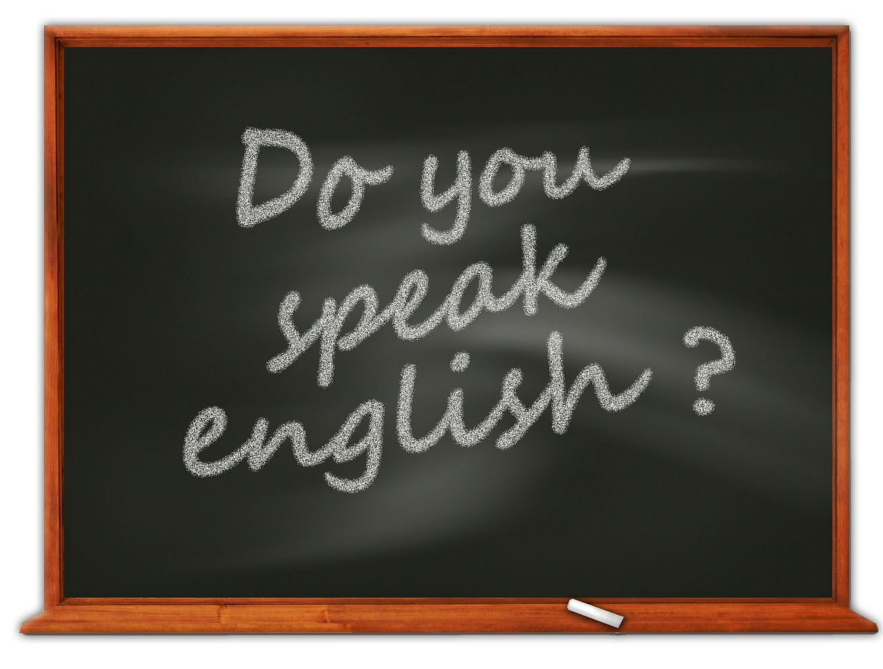 Do you speak English? con Ms Williams