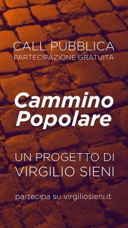 Festa di Roma 2019. CALL: CAMMINO POPOLARE laboratorio per tutte le età