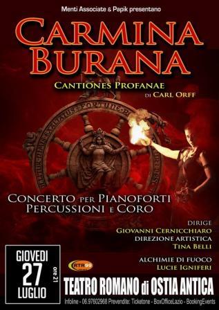 Carl Orff  in CARMINA BURANA - Cantiones Profanae