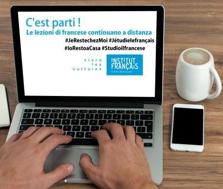 #iorestoacsa#studioilfrancese. Corsi online e a distanza!  Apprends le français de chez toi  !
