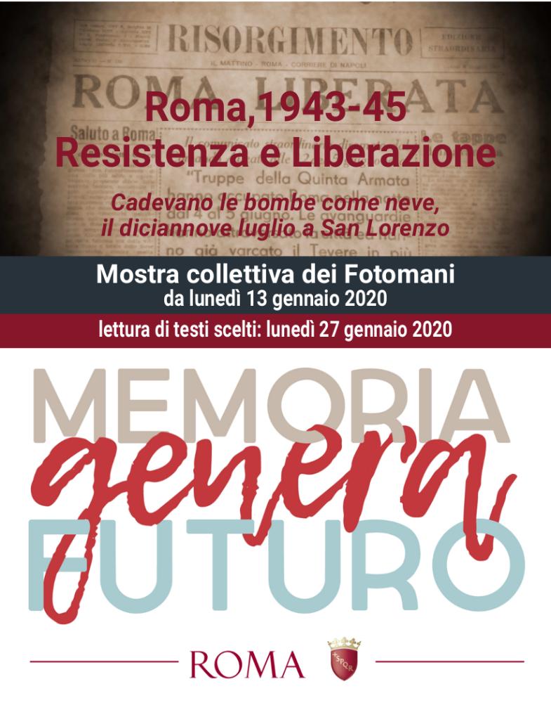 ROMA, 1943-45. RESISTENZA E LIBERAZIONE