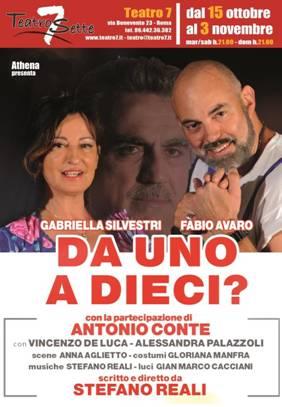 Gabriella Silvestri e Fabio Avaro DA UNO A DIECI?Una commedia molto divertente